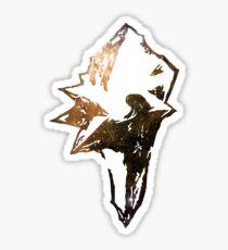 Final Fantasy IX logo universe Sticker