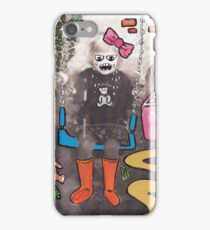 Child on a swing iPhone Case/Skin