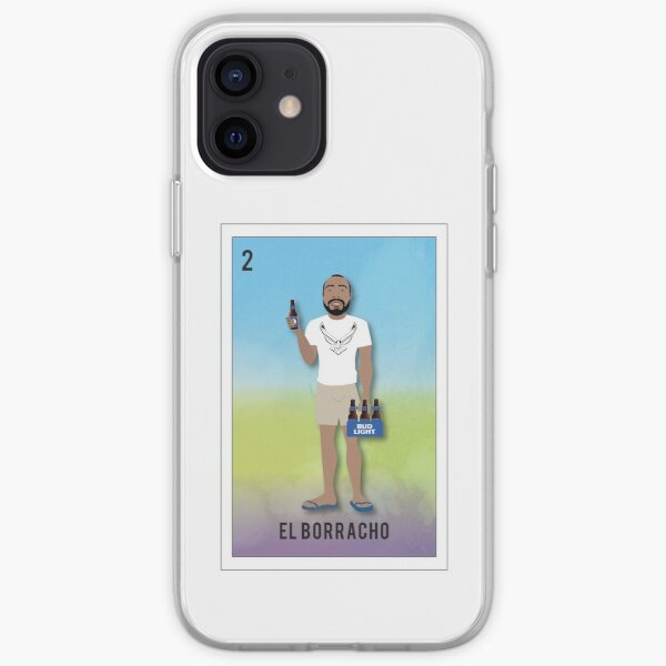 El Borracho iPhone Soft Case
