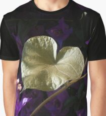 A Heart of Gold Leaf of Morning Glory Graphic T-Shirt