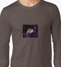 A Heart of Gold Leaf of Morning Glory Long Sleeve T-Shirt
