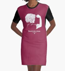 Proud To Be A Woman  Graphic T-Shirt Dress