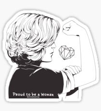 Proud To Be A Woman  Sticker