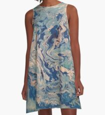 Ocean Wishy Washy2 A-Line Dress