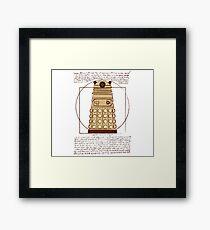 Vitruvian Dalek Framed Print