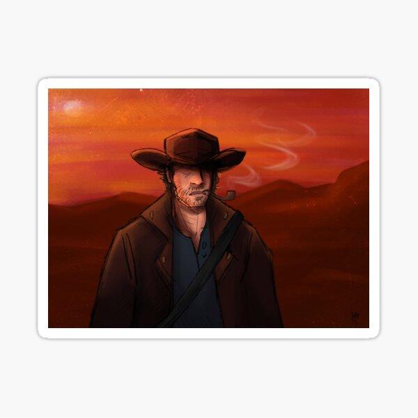 Louis Davis x The Wild West  Sticker
