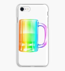 Rainbow Beer Mug iPhone Case/Skin