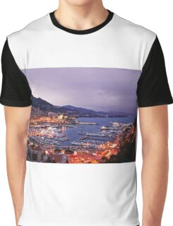 Monte Carlo at Night Graphic T-Shirt