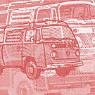 Red Bay Campervan Montage by Ra12