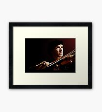 Violinist Framed Print
