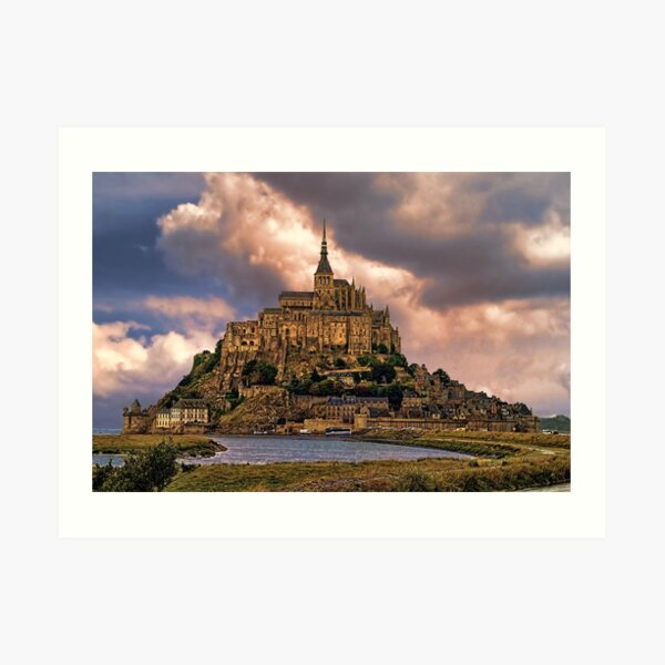 On The Coast Of Normandy Art Print