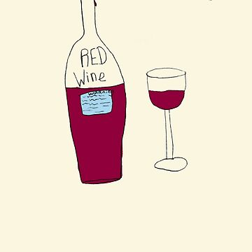 by Bethany - RED wine by jamesmiller