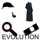 Evolution of Sherlock Holmes by nero749