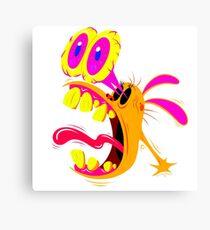 Ren Psycadelic Scream Canvas Print