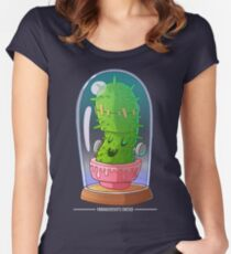 Frankenstein's cactus Women's Fitted Scoop T-Shirt