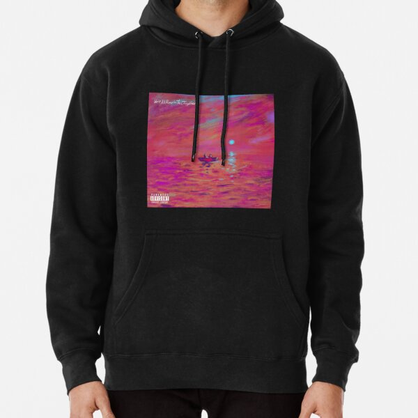 SANTAN DAVE WE'RE ALL ALONE IN THIS TOGETHER Pullover Hoodie