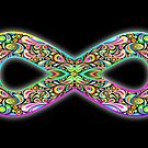 Infinity Psychedelic Symbol  by BluedarkArt
