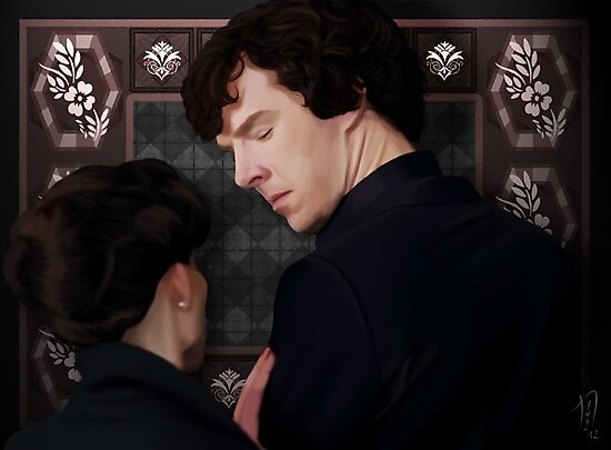 You flirted with Sherlock Holmes? by nero749