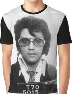 Elvis - Mug Shot Graphic T-Shirt