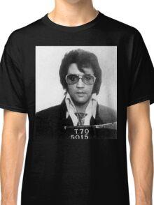 Elvis - Mug Shot Classic T-Shirt