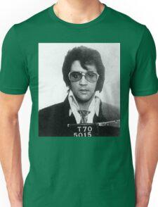 Elvis - Mug Shot Unisex T-Shirt