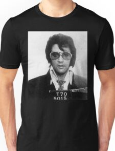 Elvis - Mug Shot Unisex T-Shirt