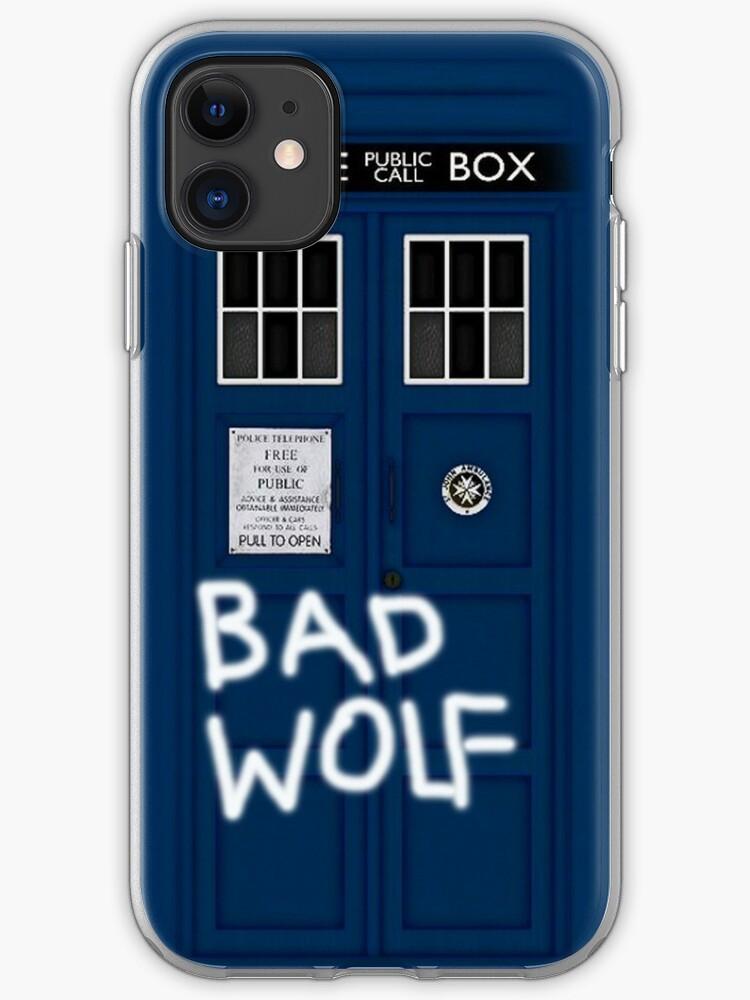 DOCTOR WHO TARDIS VERTIGO iphone case