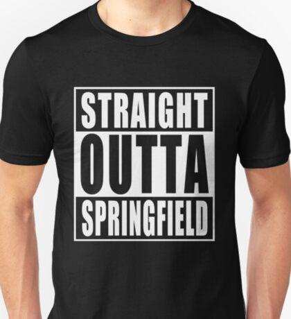 Straight Outta Springfield T-Shirt