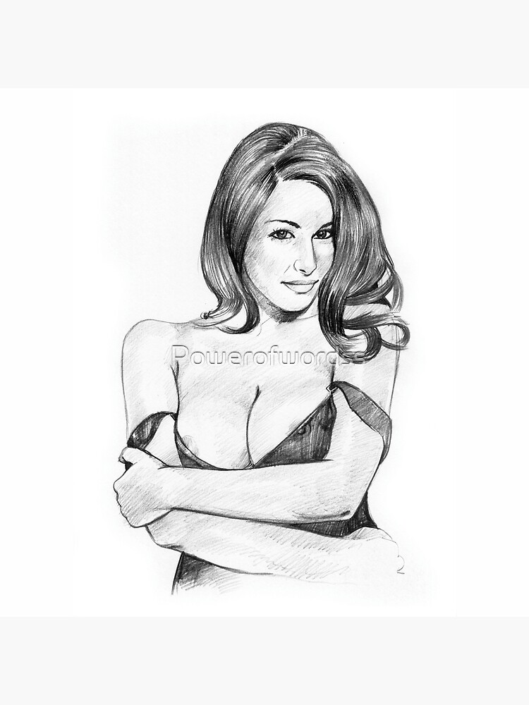 Lucy Pinder - Pencil Art by Powerofwordss