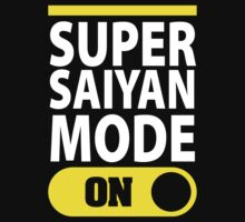 Super Saiyan Mode On | Unisex T-Shirt