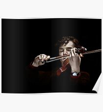 The Violinist Poster