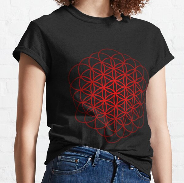 Flower of Life Sacred Geometry Classic T-Shirt
