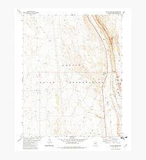 USGS TOPO Map Arizona AZ Willow Springs 314133 1981 24000 Photographic Print