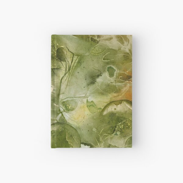 Alcohol Ink Abstract Hardcover Journal