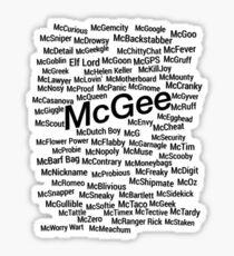 McNicknames Sticker