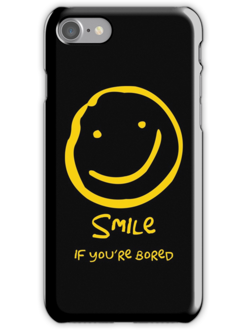 Smile if You're Bored (Text Version) by nero749