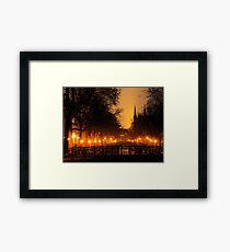 Amsterdam Nightscape Framed Print