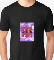 Lyric Art, Maroon 5, She Will Be Loved T-Shirt