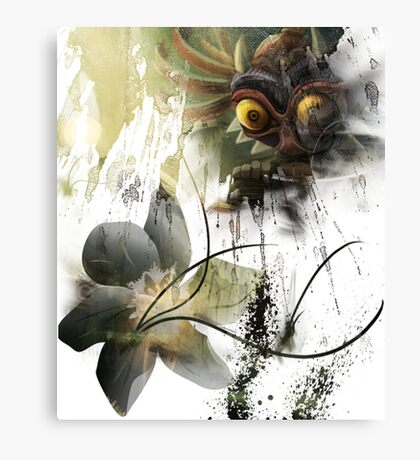 Zelda - Majoras Mask Canvas Print