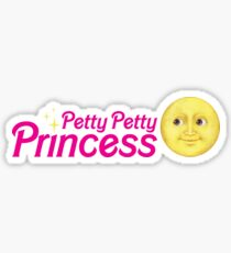 Petty Petty Princess Sticker