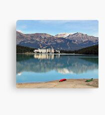 Lake Louise in Alberta Canada Canvas Print