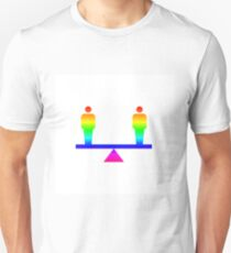Rainbow Teeter Totter T-Shirt