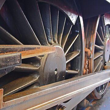 Steam Train Wheels by GCooles