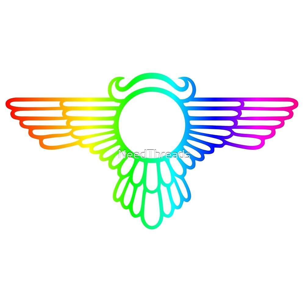 Rainbow Wings by NeedThreads