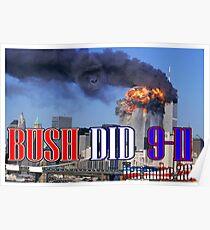 Haramabe Bush did 9-11 Poster