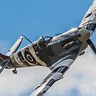 Spitfire Rolling In by Lee Wilson