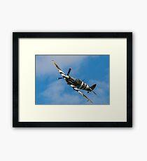 RAF Spitfire Framed Print