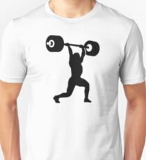 Weightlifting weightlifter Unisex T-Shirt