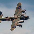 Avro Lancaster Bomber by Lee Wilson