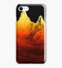 Sci Fi Mountains Landscape iPhone Case/Skin